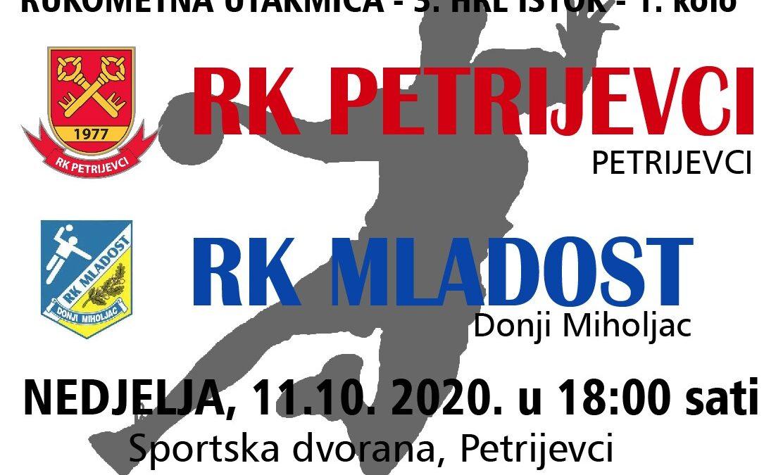 Petrijevci – Mladost (Nedjelja, 11.10. 2020. u 18:00 sati)